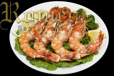 KING PRAWNS GRILLED